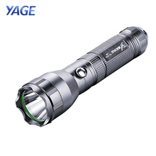 YAGE 332C Flashlight CREE LED Flashlight Tactical Touch Light Three Modes 200-500M Self Defence Lantern Lintern for 18650(China)