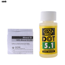 Buy Bicycle Disc Brake Oil Fluid DOT Hydraulic Mineral Lubricant Mountain Bike 60ml