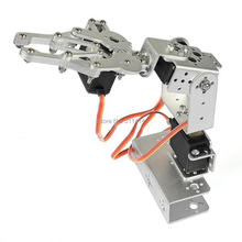 1set DIY 3-Axis Control Palletizing Robot Arm Model With Servos And Servo Arm Plate For Arduino UNO MEGA2560 Smart Robot Car(China)