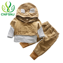 CNFSNJ 3pcs/set Fashion Polka Dot Newborn Baby boy Clothes Bodysuit Pants Cardigan Wear Suit Infant Costume Kit Girl Children Cl