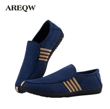 AREQW New Fashion Men's Casual Shoes Breathable Korean Male Selling Shoes Men's single Shoes High Quality Comfortable Breathable(China)