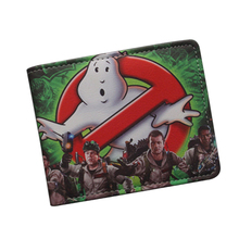 Antique Classic Cartoon Movie Wallet GHOSTBUSTERS Wallet Ultra Slim Leather Bifold Men Money Bag GHOST BUSTERS Purse Card Holder(China)