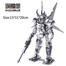 3D Metal Puzzles Model 2017 Adult Kids DIY Kits Jigsaw Robot Machine Armor Educational Toys Collection Christmas Gift