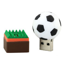 Football Rugby Golfball Basketball model USB 2.0 Memory Stick Flash pen Drive 4GB 8GB 16GB 32GB 64GB 128GB 100% Genuine