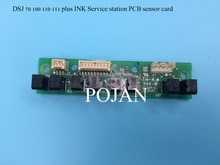 ISS PCB C7796-60209 Fit For Designjet 70/100/110/111 plus Ink supply station ink printer plotter parts