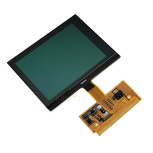 Black New Replacement LCD VDO Dash Display For Audi A3 A4 A6 For Volkswagen LCD Cluster Repair