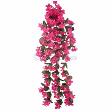 Real Touch Orchids Artificial Silk Flowers for Home Decoration Fake Flowers Hanging Artificial Plants for Wedding Decoration