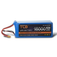 Upgrades TCB RC airplane Li-Po Battery 3s 11.1v 16000mAh 25c the best cell the lowest internal resistance and higher endurance