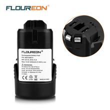 FLOUREON for Bosch 10.8V 2000mAh Rechargeable Battery Pack Power Tool Li-ion Battery for Bosch2 607 336 014,2 607 336 864,BAT411