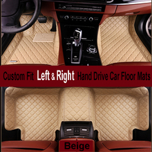 ZHAOYANHUA fit car floor mats for Lexus LS LS460 LS460L LS600H IS300 IS 250 RX ES NX high quality leather carpet rugs(China)