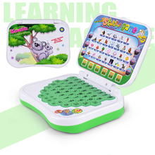 Cartoon Early Learning Computer Learning Machine Toy Plastic Multifunctional Koala Dolphin Kangaroo Panda Patterns Toy for Kids(China)