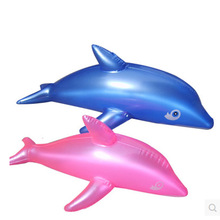 free shipping 10pcs Inflatable Animal new Large Dolphin Inflatable fish Kid Water Toy Inflatable Toys Party Decoration