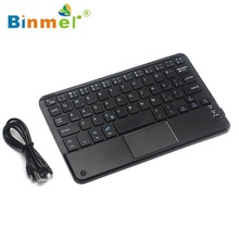 Binmer Bluetooth Wireless Keyboard Touchpad For All 7-10 inch Android Windows Tablet Teclado Wholesale price Dec17(China)