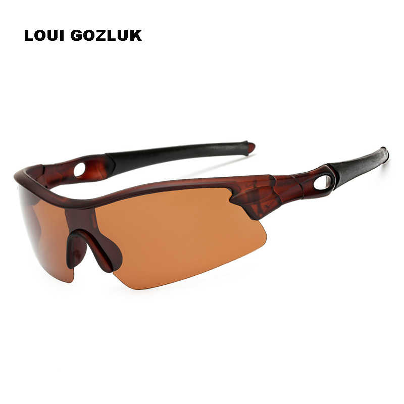 Поляризованные мужские антибликовые солнцезащитные очки спортивные очки для вождения уличные очки роскошные новые брендовые дизайнерские очки gozlugu