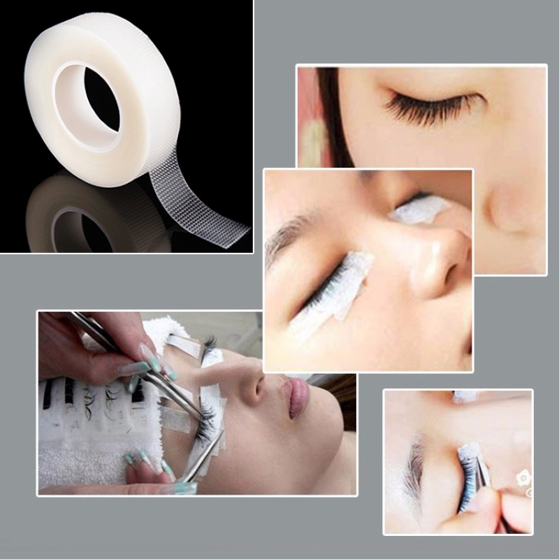 Shellhard 2Rolls/6Rolls Eyelash Extension Tool False Eyelash Eye Lash Extension Tape Under Patch Makeup Tool