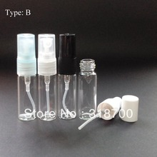 50/lot 5ml glass perfume atomizer bottle used for perfume packaging or perfume sprayer(China)
