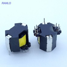 5pcs RANLO RM8 6+6pin Drive Transformer Magnet Ferrite Core Transformer Turn Ratio 53:53:53 7mH 0.29mm copper wire(China)