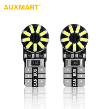 Buy Auxmart 2pcs T10 Led License Plate Light 6000K Auto Dashboard Light W5W Clearance Lamp 194 Reading Light T10 Type Interior Bulbs for $3.98 in AliExpress store