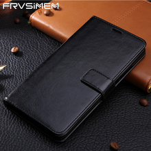 FRVSIMEM Leather Phone Case For Samsung Galaxy A3 A5 A7 2016 J3 J5 J7 2017 J330 J530 J730 J5 J7 J2 Prime Flip Wallet Case Cover