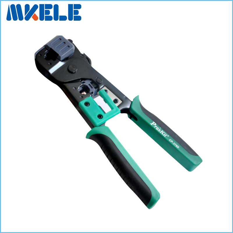 CP-376D 6P/8P Network Crimping Pliers Ratchet Portable Cable Wire Stripper Crimping Pliers Terminal Tool Multifunctional Pliers<br>
