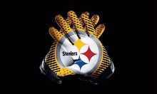 Pittsburgh Steelers Sport Team Products Gloves 3x5 ft flag 100D Polyester flag 90x150cm(China)