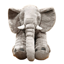 ABWE 40CM 1 pcs Elephant Plush Toys plated Doll Stuffed Plush Pillow Home Decor for Children Gifts(China)