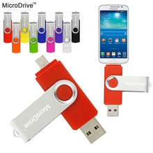 Colorful Rotated OTG Smart Flash pen drive 32GB 8GB16G 64G 4GB OTG memory stick micro usb flash driver for smart phone tablet