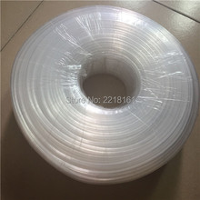 Outdoor large format printer spare parts 8 lines clear ink tube 3X1.8MM for CISS bulk ink system ink hose 10M for sale