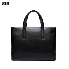 High quality pu Top Sell Fashion Simple Dot Famous Brand Business Men Briefcase Bag Leather Laptop Bag Casual Man Bag Shoulder b(China)