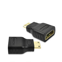 1pcs Mini HDMI to HDMI Adapter Female to Male F-M Converter Connector for HDMI HD 1080P Cable Adapter Device for HDTV -25