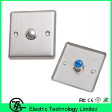 Cheap hot sale 10pcs/lot X05 metal exit button stainless stell door switch(Hong Kong)