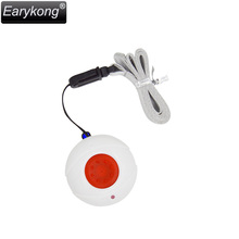 Free Shipping Earykong Wireless 433MHZ Emergency Button For PSTN GSM Home Burglar Alarm System Designed For Old People(China)