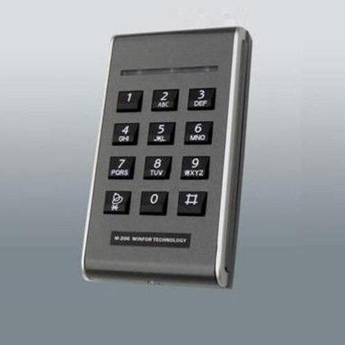 M-206E for EM(ID) 125kHz card 1K standalone access controller<br>