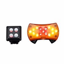 New Wireless Control Turn Signal Light for Bicycle Turning Bike Light Safety for Mountain Bike(China)