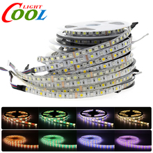 LED Strip 5050 RGBW Waterproof /Non Waterproof DC12V /24V Neon Tape Strip Light 60 /96 LED/m RGB+White / RGB+Warm White 5M