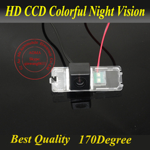 Car rearview camera For VW Polo Passat B6 CC Golf 5 New Jetta Backup CCD reverse HD night version water-proof Parking Assistance(China)