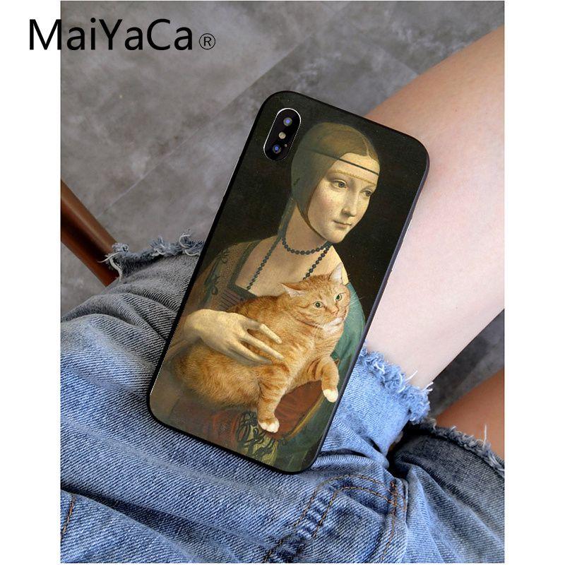 Funny Leonardo da Vinci Mona Lisa Pat Cat Art