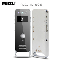 Newest Original RUIZU X01 Sport Mini Portable Lossless MP3 Music Player Hidden Digital Audio Voice Recorder Pen 8GB Dictaphone(China)