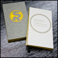 Edge gilding business cards shop cheap edge gilding business cards individual custom white card paper business cards print yellow foil stampingedge colorletterpress reheart Image collections