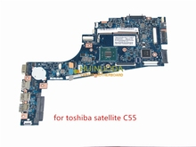 New ZBWAA LA-B303P K000891450 Laptop motherboard for Toshiba Satellite C55-B5202 C55 main board N2840 cpu DDR3
