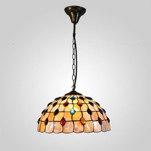 MAMEI Free Shipping Height Adjustable 14 Inch Tiffany Ceiling Modern Chandelier For Bedroom 3 Lights 120W 110-240V Voltage