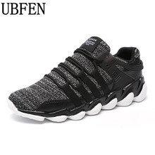 UBFEN 2017 Men Casual Shoes Spring Breathable Durable Laces Shoes Fashion Breathable Footwear Lightweight Male Shoes Big Size(China)