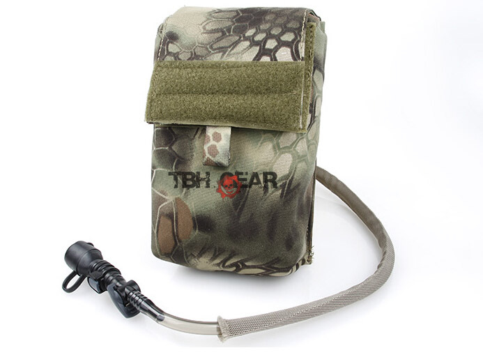 TMC 27OZ Hydration Pack With Water Bladder Airsoft MOLLE Hydration Pouch In Mandrake+Free shipping(SKU12050439)<br>