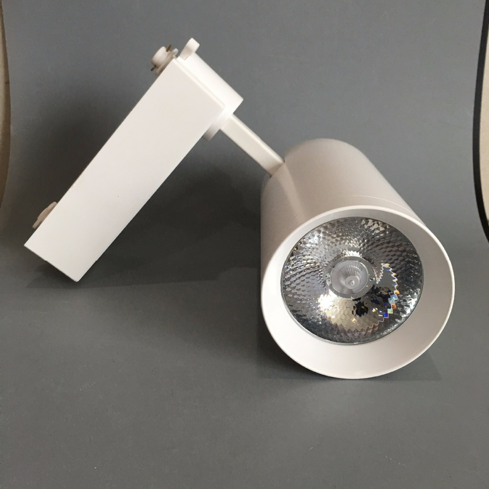 SNYKA 20W 30W  LED Track Light COB Angle Adjustable Track Rail 220V for Hotel Lobby Decoration Luminaire<br>