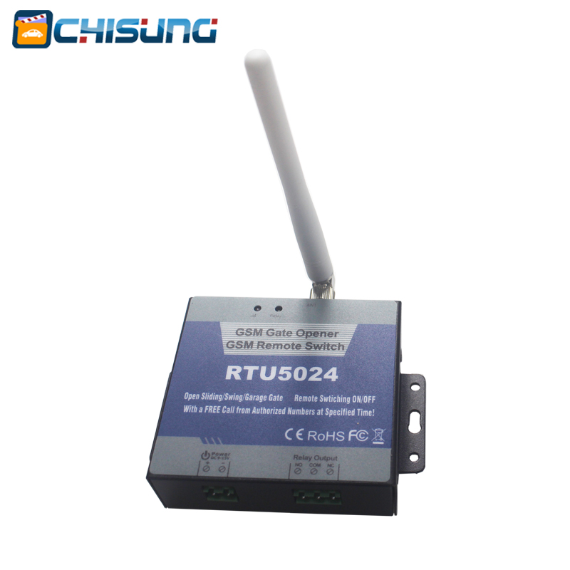 Door controller RTU5024 gate access control gsm switch for sliding gate swing gate <br>