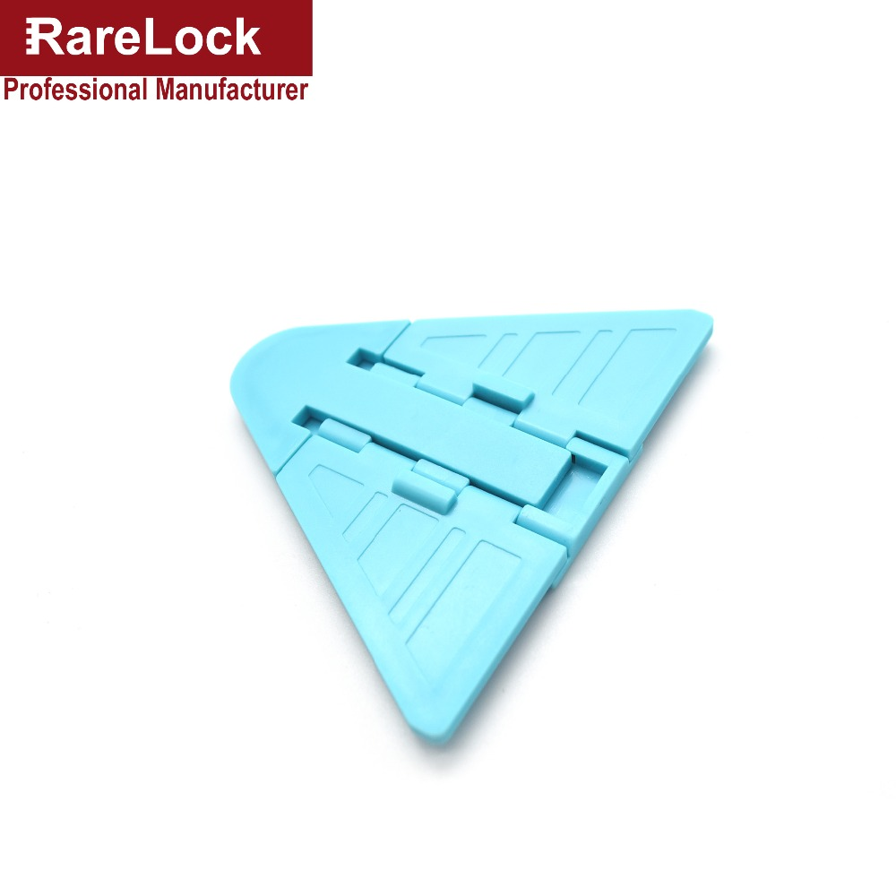 Rarelock AMMS272 10pcs Child Sliding Door Window Lock No-drilling Blue Baby with 3M adhesive tape for Home Security Hardware a<br><br>Aliexpress