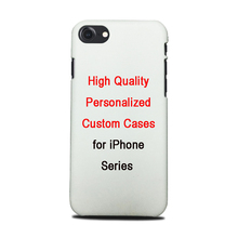 Personalized Custom-made Sublimation Cases For iPhone Series DIY Heat Transfer MobIle Phone Covers Shells