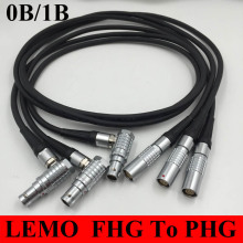 LEMO Connector FHG To PHG 0B 1B 2 3 4 5 6 7 8 9 10 14 16 Pin Connector Welding Cable 1M RRI MINI Camera power cable plug