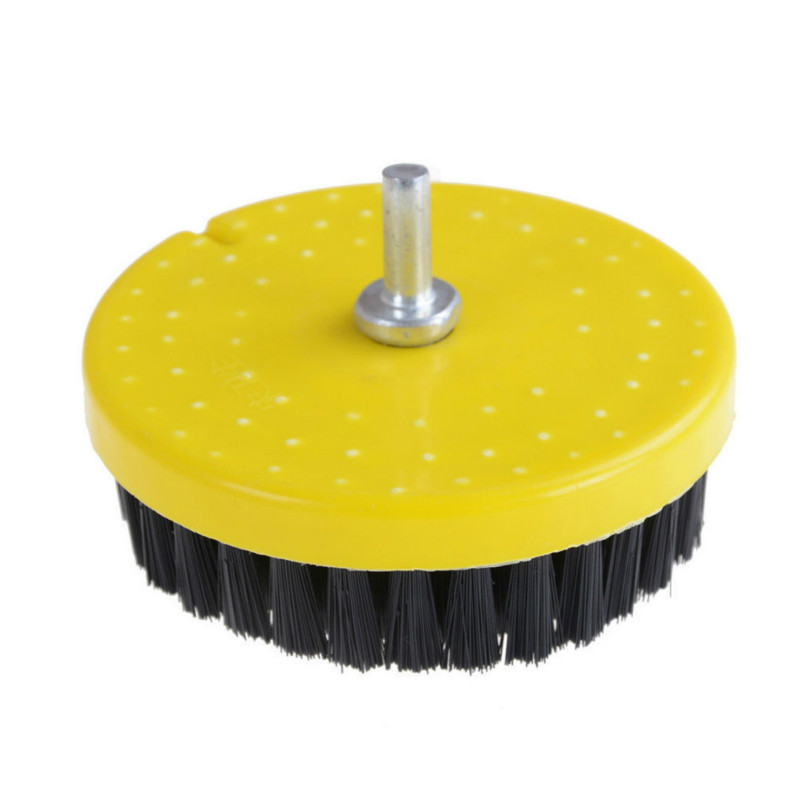 JX-LCLYL 110mm Power Scrub Drill Brush For Carpet Sofa Wooden Furniture Cleaning