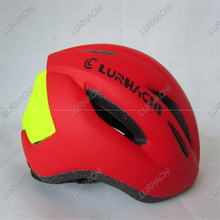 2017 New Style Ultralight Cycling Helmet C-008 Red&Green Without Light Integrally-molded 8 Vents Bicycle Helmet(China)